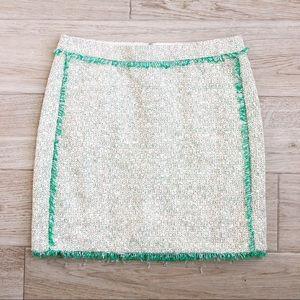 J. Crew Tweed Skirt